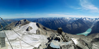 Panorama vom Gipfel des Olperer