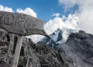 Schild bei der Payerhütte