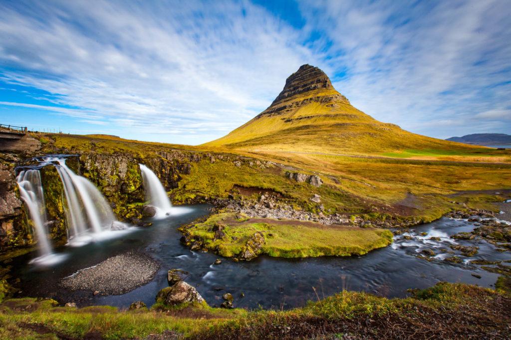 Kirkjufell - das typische Postkartenmotivaus Island