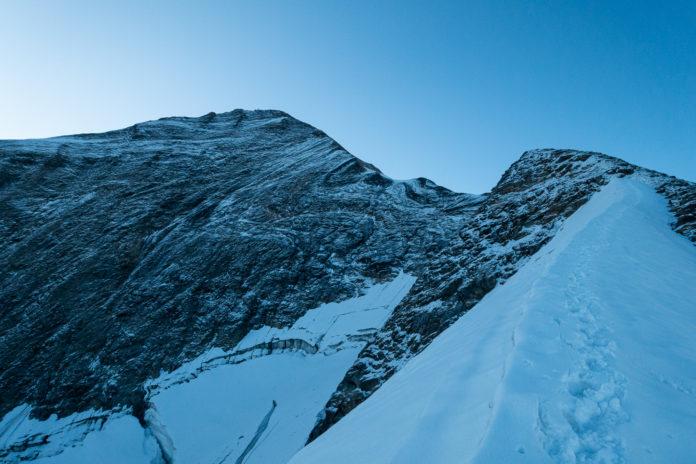 Kaindlgrat mit großem Wiesbachhorn