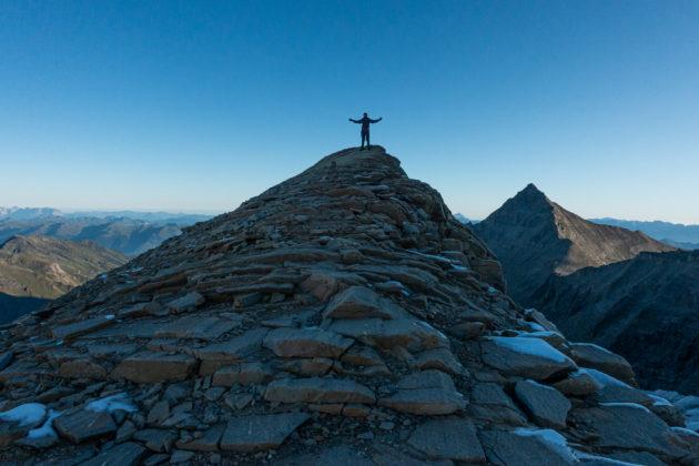 Noch nicht ganz der Gipfel :-)