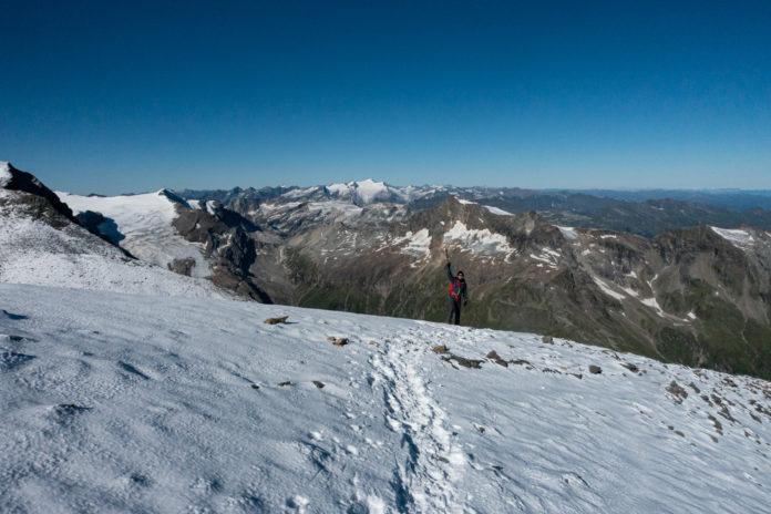 Abstieg vom Wiesbachhorn