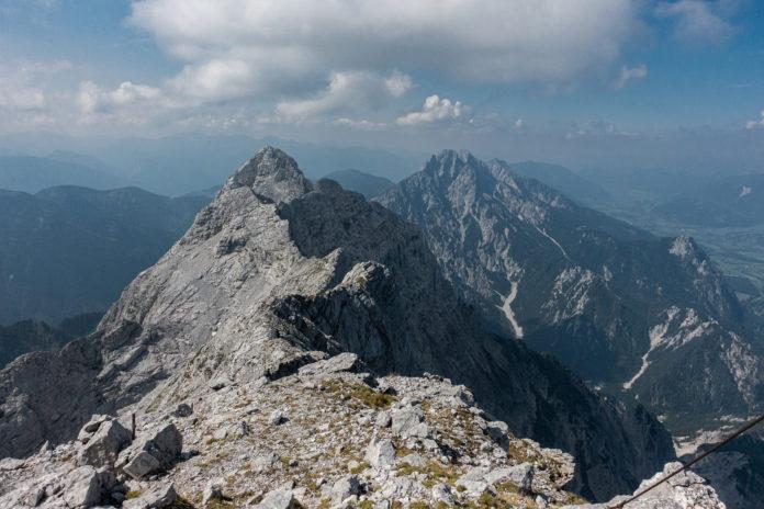 Blick vom Gipfel Richtung Großer Ödstein
