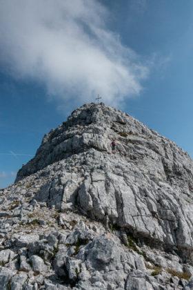 Der Gipfel endlich zum Greifen nahe