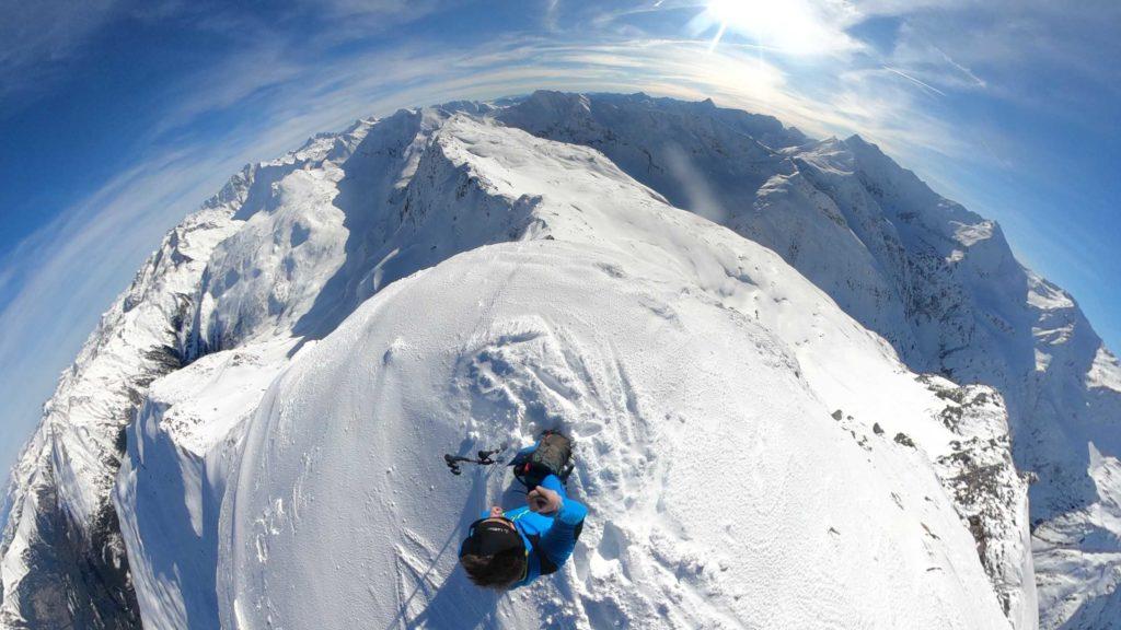 360 Grad Foto vom Gipfel des Kreuzkogels im Gasteinertal