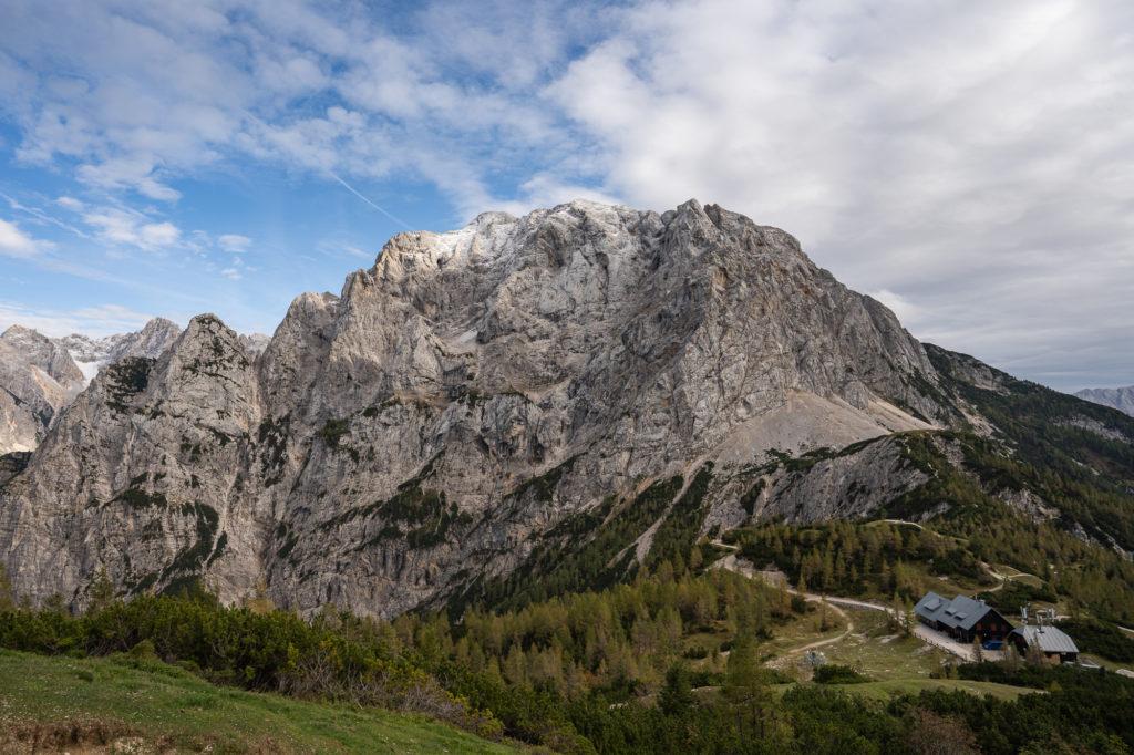 Kleine Wanderung am Vršičpass