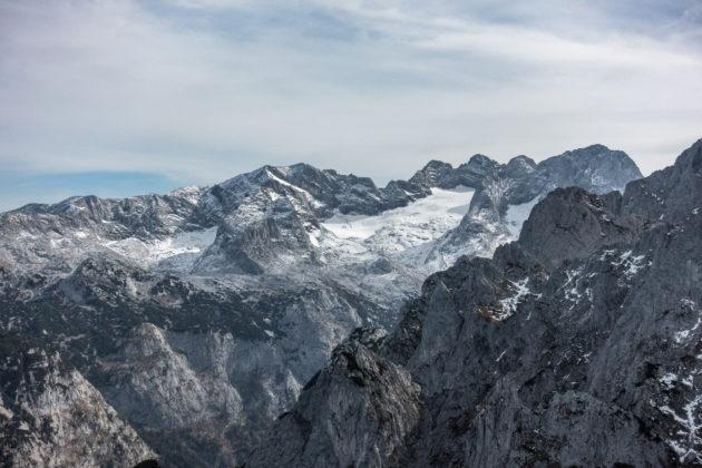 Das wunderschöne Dachsteinmassiv vom Strichkogel