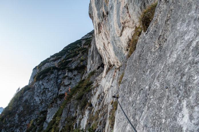 Die ersten Klettermeter