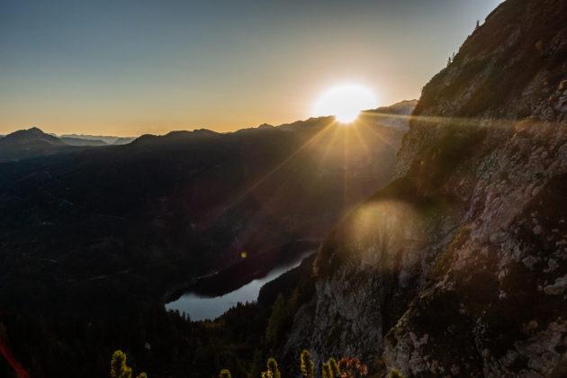 Ein atemberaubender Sonnenaufgang