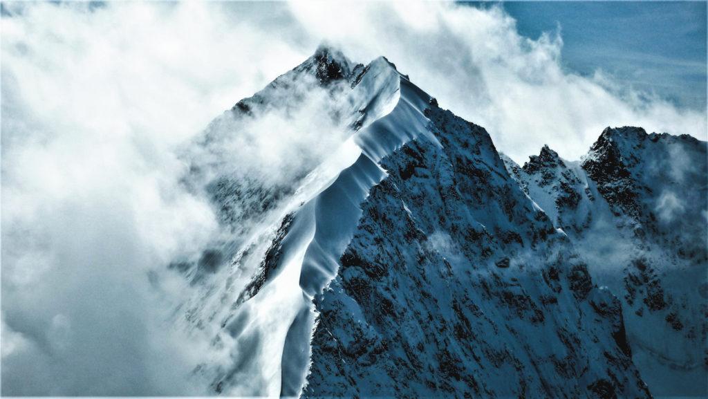 Der Biancograt auf den Piz Bernina