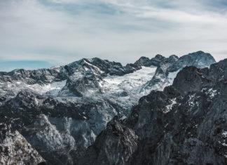 Dachstein vom Donnerkogel aus betrachtet