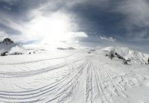 Panorama bei einer Skitour auf das Filzmooshörndl