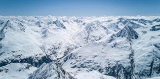 Panorama der Bergwelt rund um die Wildspitze