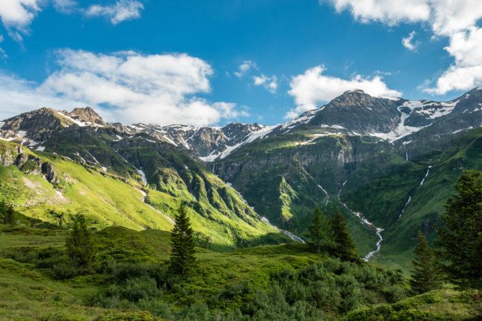 Beeindruckendes Bergpanorama in Sportgastein
