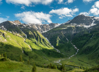 Beeindruckendes Bergpanorama im Nassfeld