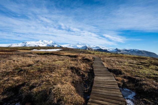 Wanderung zum Sjónarnípa