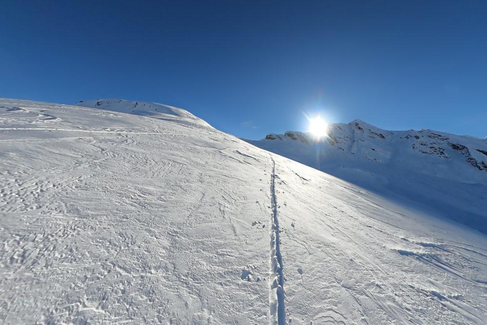 Skitour über den Rücken des Seekopf