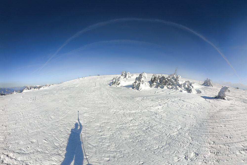Am Gipfelplateau vom Stuhleck