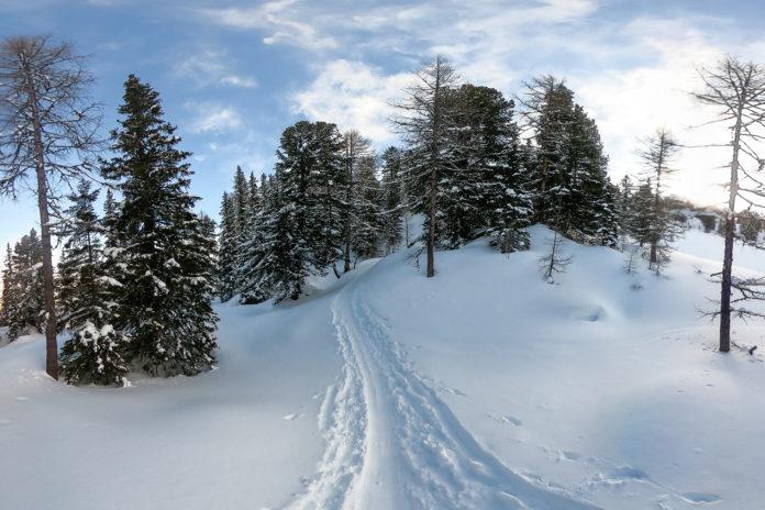Skitour zur Graukogelhütte von Bad Gastein aus