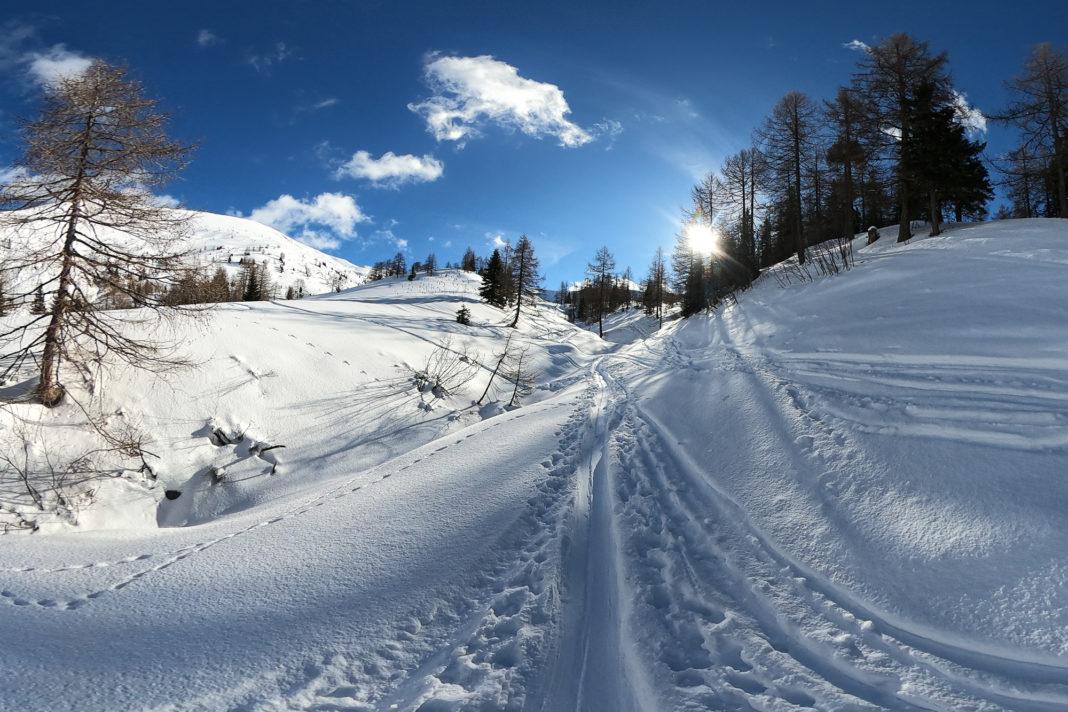 """<a href=""""https://rauf-und-davon.at/skitour-kreuzeck/"""">Kreuzeck</a> - Februar 2021"""