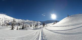 Bestes Wetter bei meiner Skitour auf das Kreuzeck
