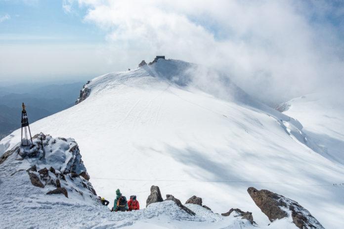 Signalkuppe von Gipfel der Zumsteinspitze