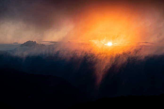 Sonnenaufgang am Gamskarkogel