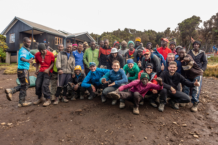 Reisegruppe Kilimanjaro